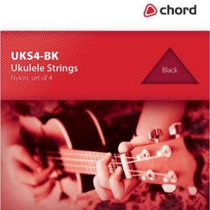Chord Ukulele Strings Black Nyon