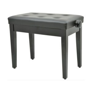 High Gloss Black Adjustable Piano Stool with Storage Compartment- 180.250UK  sc 1 st  Piano Accessory Shop : discacciati piano stool - islam-shia.org