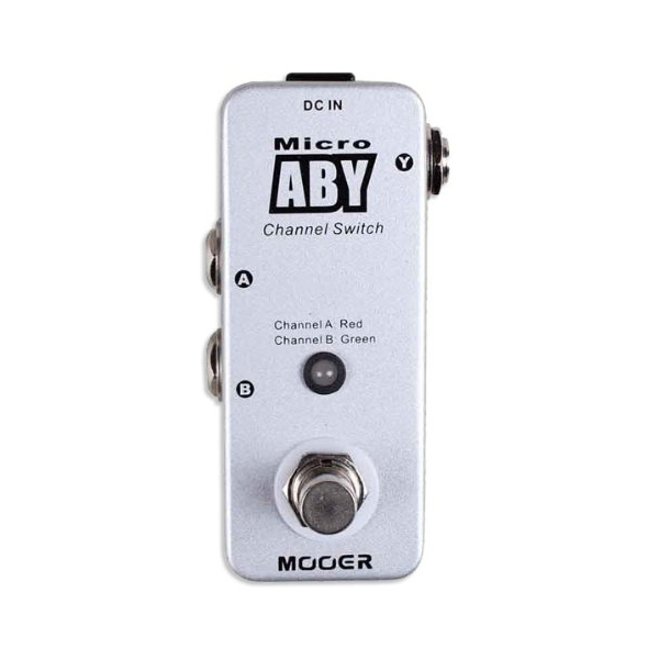 New Mooer ABY AB Switch Micro Guitar Pedal