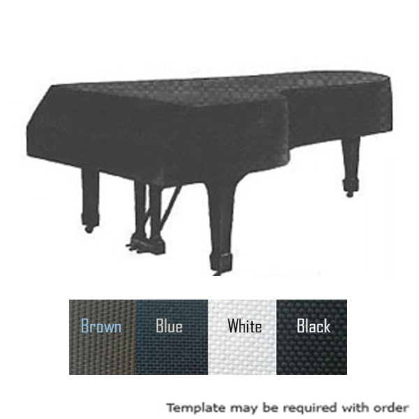 Heavy Cotton Proofed Grand Piano Cover Fleece Lining